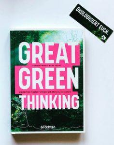 Buchcover Hauwehde, Zwerenz: Great Green Thinking