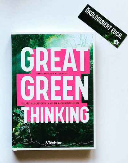 Buchcover Hauwehde, Zwerenz: Great Green Thinking